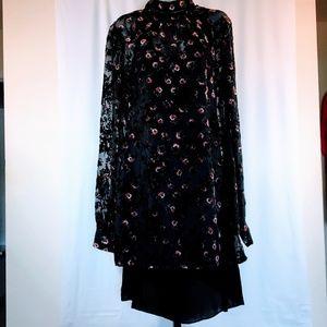 Diane Von Furstenberg Kipling Sheer Silk Dress
